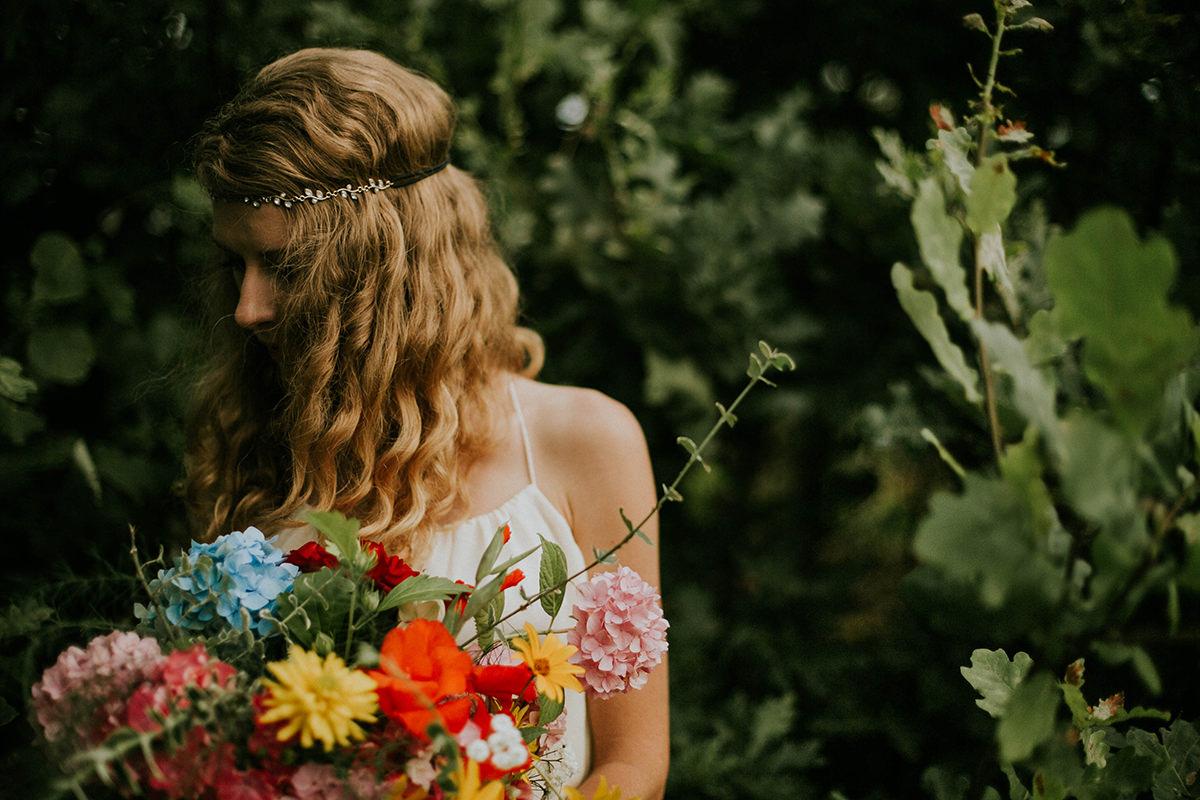 Alicja = Sesja stylizowana. Wedding Flowers