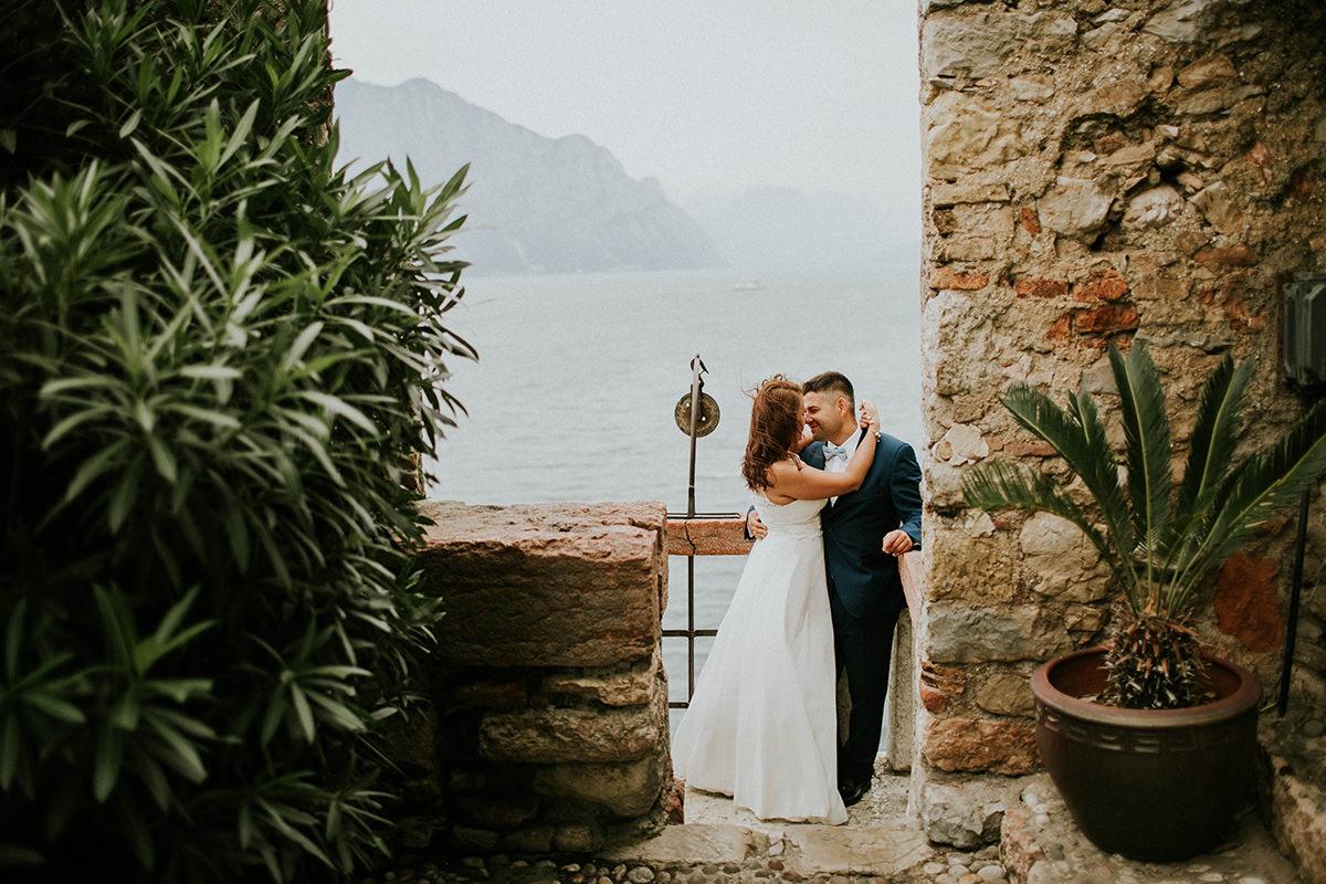 O + J = Italia. Sesja ślubna Włochy Bergamo.