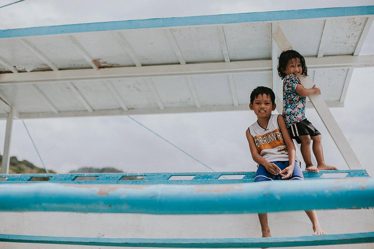 Filipiny. El Nido. Miłość