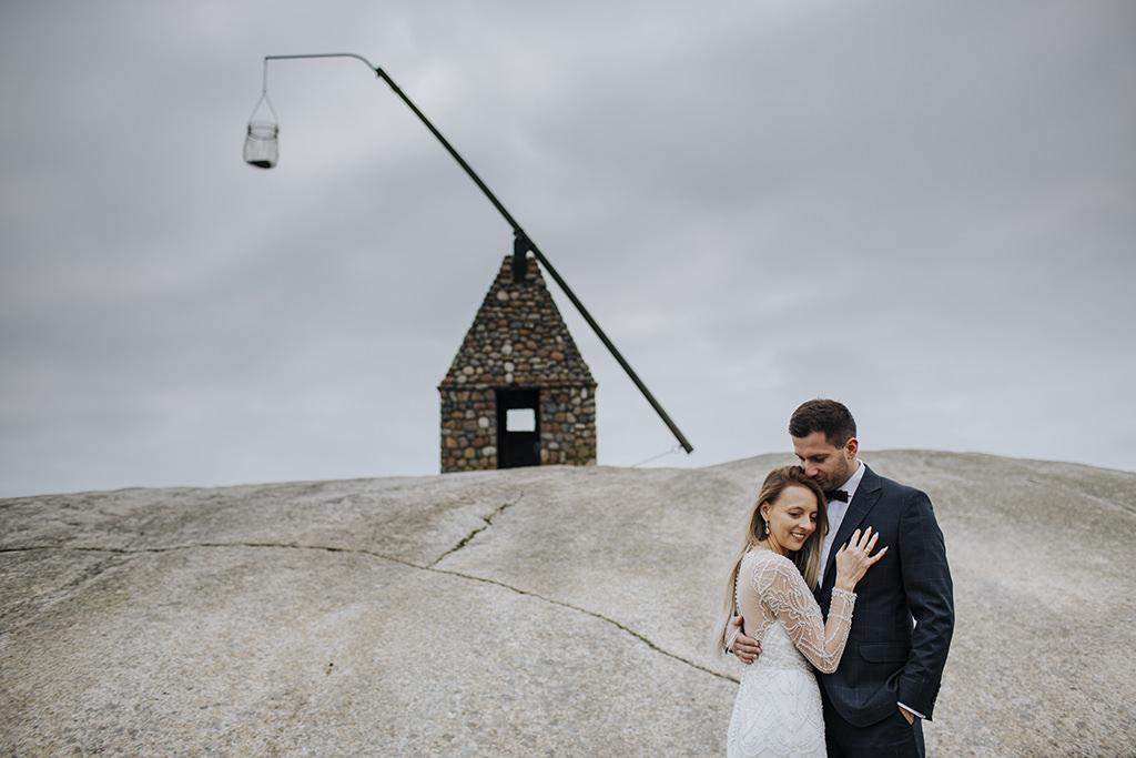 A + K = Wesele Biała Przystań Dębica. Sesja ślubna w Oslo